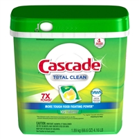 Cascade Gel Packs Dishwasher, 105 ct