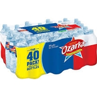 Ozarka Spring Bottled Water 16.9 oz 40 bottles