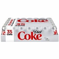 Diet Coke, 12 oz, 35 cans