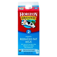 Organic 2% Milk by Horizon 64oz