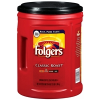 Folgers Classic Roast Coffee, 48oz