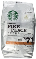 Starbuck's Pike Place, 32oz Ground