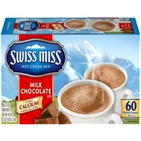 Swiss Miss Hot Cocoa Mix 1 oz, 60ct