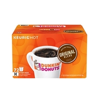 K Cups Dunkin Donuts Medium Roast, 72pk