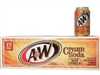A&W Cream Soda, 12 oz, 12 cans