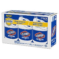 Clorox Bleach 121 oz Jugs 3 pk