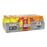 Gatorade Variety 12 oz, 28 bottles