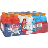 Gatorade Texas Liberty Variety 20 oz, 24ct