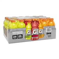 Gatorade Variety 20 oz, 24ct