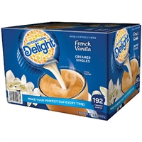 French Vanilla Creamer International Delight, 188 ct