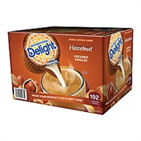Hazelnut Creamer International Delight, 192 ct