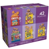 Keebler Cookie and Cracker Variety Packs, 42 ct