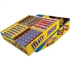 M & M, Skittle, Snickers Variety Box 52 ct