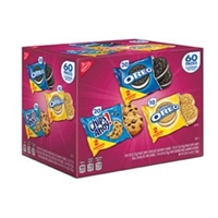 Nabisco Cookie Variety Packs, 60 ct