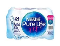 Nestle Purelife Bottled Water 16oz, 24 bottles