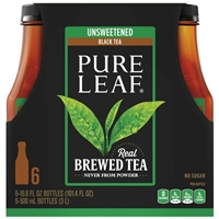 Pure Leaf Unsweetened Iced Tea (18.5 oz. bottles, 18 pk.)