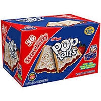 Pop Tarts Frosted Strawberry 36 count