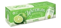 Waterloo Lime 12 pack Sparkling Water