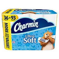 Charmin Ultra Soft Toilet Paper  36 ct.