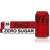 Coke Zero Sugar, 12 oz, 35 cans