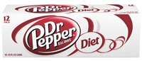 Diet Dr. Pepper - 12 oz, 12pk
