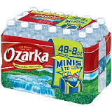 Ozarka Spring Bottled Water Mini 8 oz 48pk