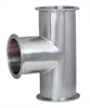 Clamp Fittings - Stainless Tee