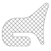 <!040>GASKET -  FOR CROSS-ARM PRESSURELESS MANWAY   Z325.000