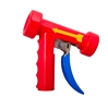 <!018>REAR TRIGGER SPRAY NOZZLE -  STAINLESS WITH RED COVER