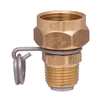 "<!030>GARDEN HOSE SWIVEL ADAPTER -  3/4"" GHT X 1/2"" NPT"