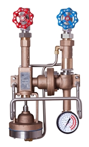 <!012>STEAM & WATER MIXING UNIT -  LOW PRESSURE BRONZE