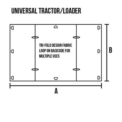 Windshield Protector for Tractor/ Loader