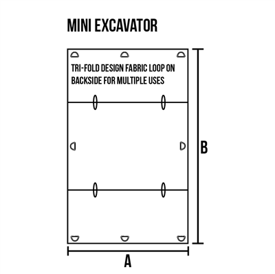 Windshield Protector for Mini Excavator