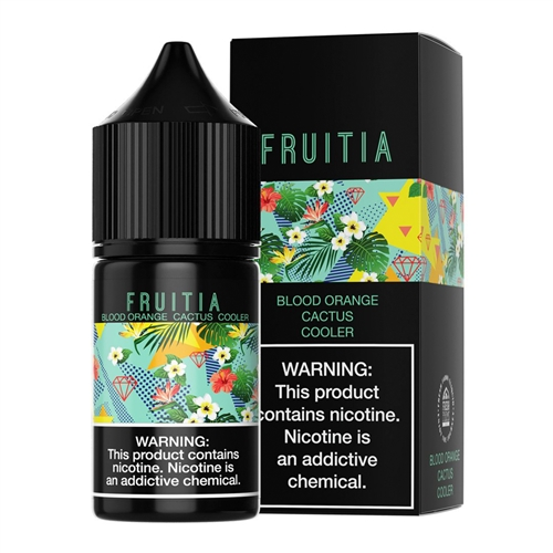 Fruitia Blood Orange Cactus Cooler Salt Nic by Fresh Farms E-Liquid - 30mL - Vapor Lounge