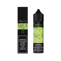 Apple Kiwi Crush by Fruitia (60mL) Premium Salt Nic Vape Juice  | Vapor Lounge®