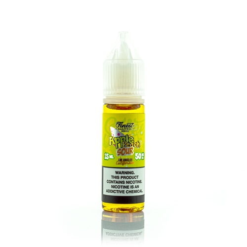 Apple Peach Sour by The Finest Salt Nic 15mL - Vapor Lounge
