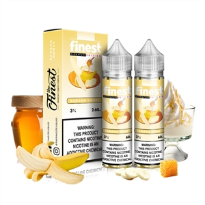 Banana Honey (Previously Gold Reserve) 60mL By The Finest E-Liquids - High VG Vape Juice  | Vapor Lounge