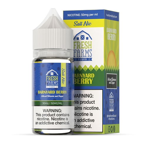 Fresh Farms E-Liquids Barnyard Berry 30mL Salt Nic - High VG e-Juice  | Vapor Lounge®