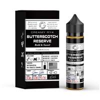 Basix Series 60mL Bottle of Butterscotch Reserve Glas E-Liquid | Vapor Lounge