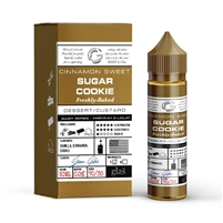 Basix Series 60mL Bottle of Sugar Cookie Glas E-Liquid | Vapor Lounge