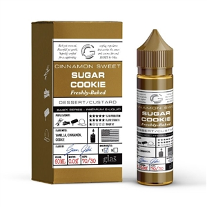 Basix Series 60mL Vape Juice Bottle of Sugar Cookie Glas e-Liquid | Vapor Lounge®