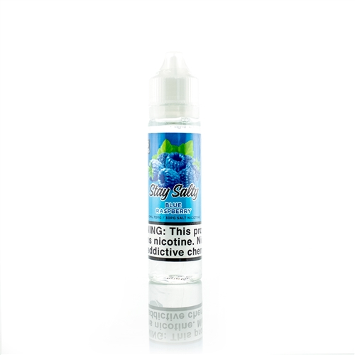 Nicotine Salt Blue Raspberry Flavor by Stay Salty's Premium E-Liquid | Vapor Lounge