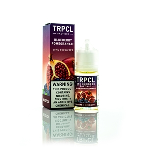 Blueberry Pomegranate by TRPCL One Hundred 30mL -Salt Nic Vape Juice  | Vapor Lounge®