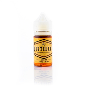 Distilled (Cali Vape Co.) Bandit Salt Nic Tobacco Flavored Vape Liquid | Vapor Lounge®