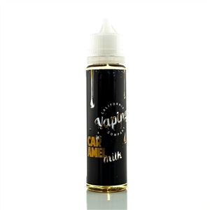 Premium E-Liquid by California Vaping Co. - Caramel Milk