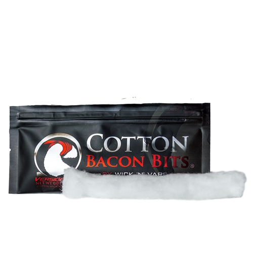 Cotton Bacon Bits V2.0 Purified Coil Wicking Cotton | Vapor Lounge