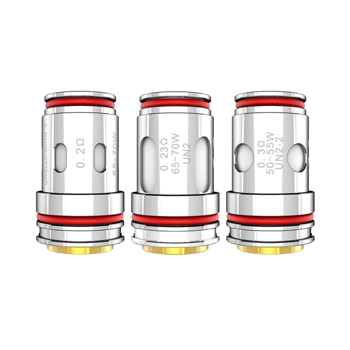 Crown 5 V Mesh Replacement Coils Uwell  samourai steam