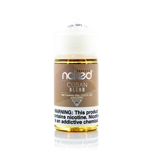 Cuban Blend E-Liquid By Naked 100 - Vapor Lounge
