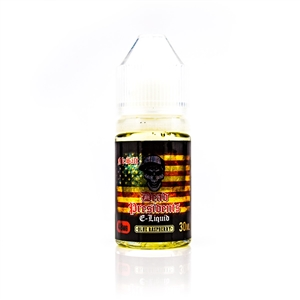 48mg Blue Raspberry by Dead Presidents Salt Nic E-Liquid - 30mL | Vapor Lounge