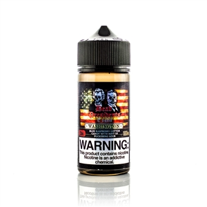 Washington by Dead Presidents Premium E-Liquid - 100mL eJuice Bottle | Vapor Lounge